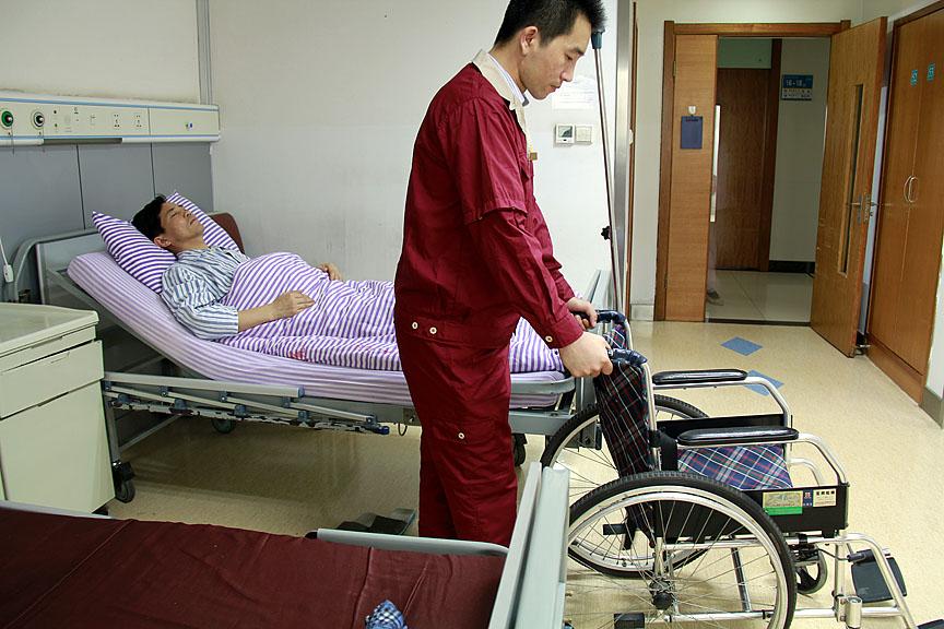 病房轮椅运送